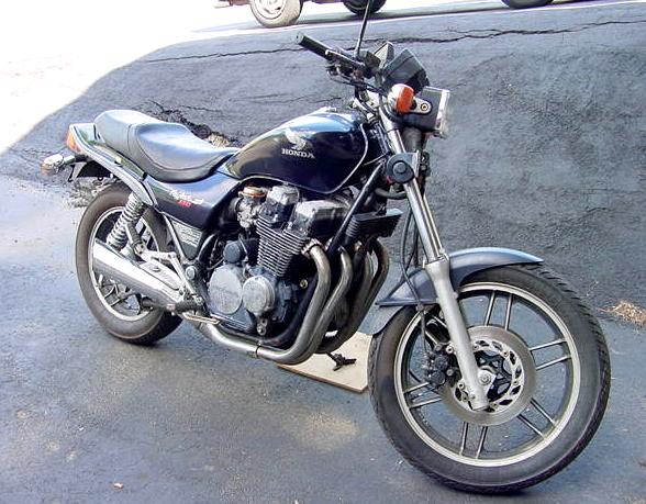 1984 cb650 bobber